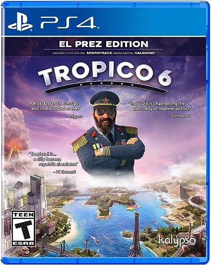 Jogo Tropico 6 - Playstation 4 - Kalypso