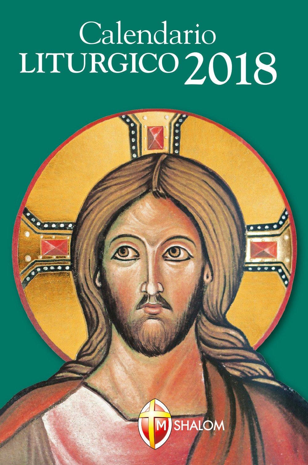 Vangelo Del Giorno Calendario Romano.Calendario Liturgico 2018 Amazon It Editrice Shalom Libri