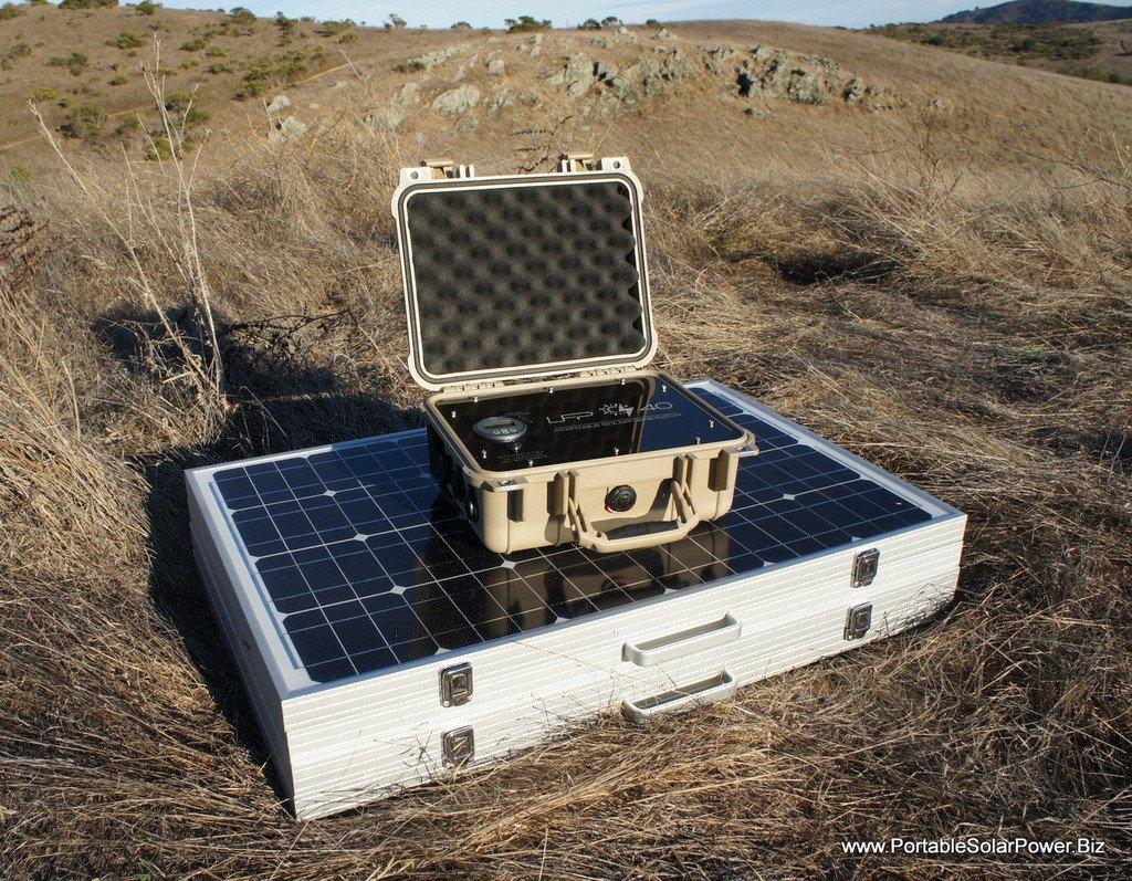 Amazon.com: LFP 40 V3 Sistema de generador de solar portátil ...