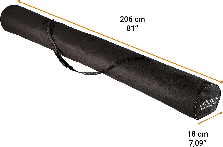 borsa da trasporto per schermi portatili materiale: nylon celexon custodia in canvas per schermi a treppiede 184 cm colore: nero