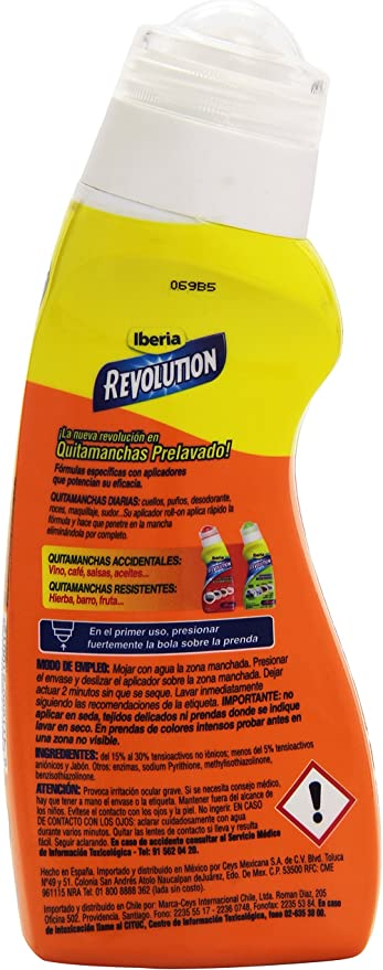 Iberia Revolution - Quitamanchas diarias - Aplicador roll-on - 200 ...