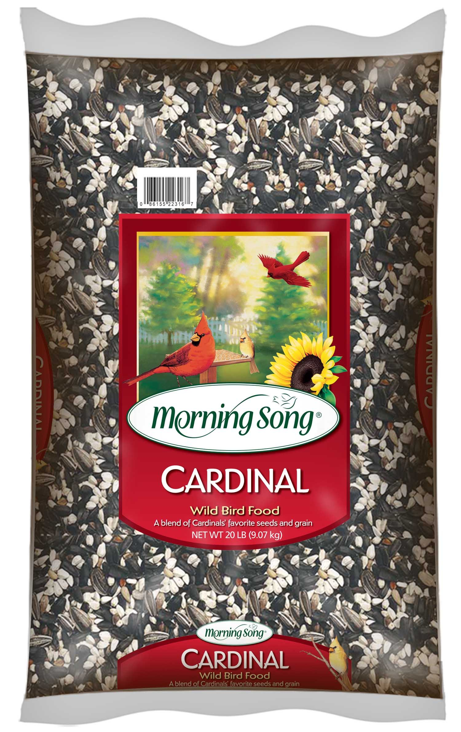 Morning Song 11341 Cardinal Wild Bird Food, 20-Pound by Morning Song