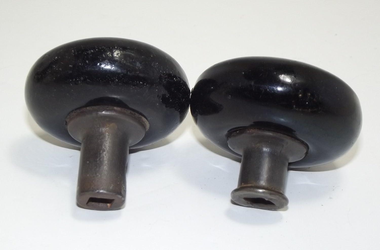 Antique Black Porcelain Door Knobs - Doorknobs - Amazon.com
