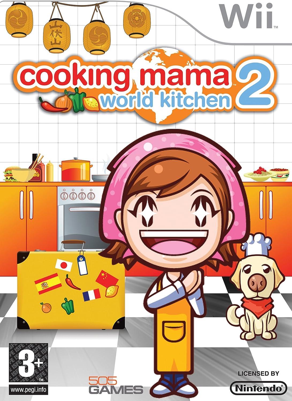 Cooking Mama 2: World Kitchen (Nintendo Wii) [Importación inglesa]: Amazon.es: Videojuegos