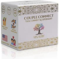 Couple Connect - Card Game for Couples - by USA Psychologist - 155 Conversation Starters and Activity Cards- Improve…