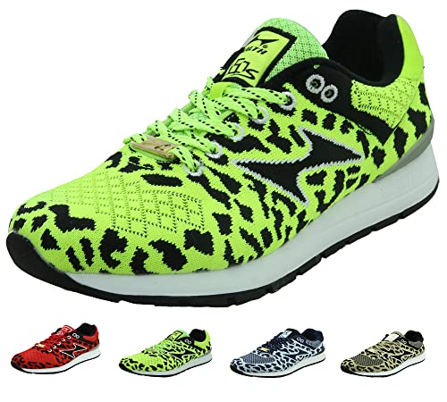 a155afb2b65d7 HEALTH Women's Men's Knit Running Shoes Breathable Lightweight Athletic  Walking Shoes Jogging Hiking 5090