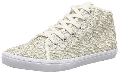 Tamaris 23611, Damen Hohe Sneakers, Beige (Ivory MACRAMEE 423), 42 EU