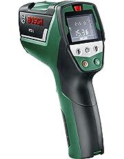 Bosch Détecteur thermique PTD 1 à écran digital avec poche et deux piles AA 0603683000