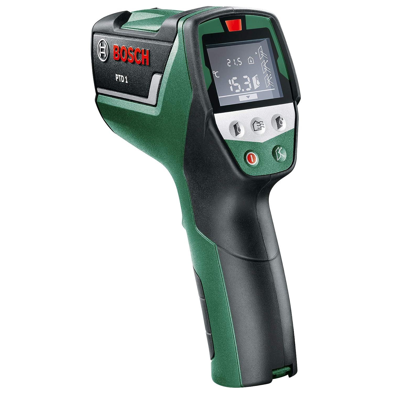 1.5 V Verde Bosch Home and Garden 0.603.683.000 Medidor temperatura Rojo Negro