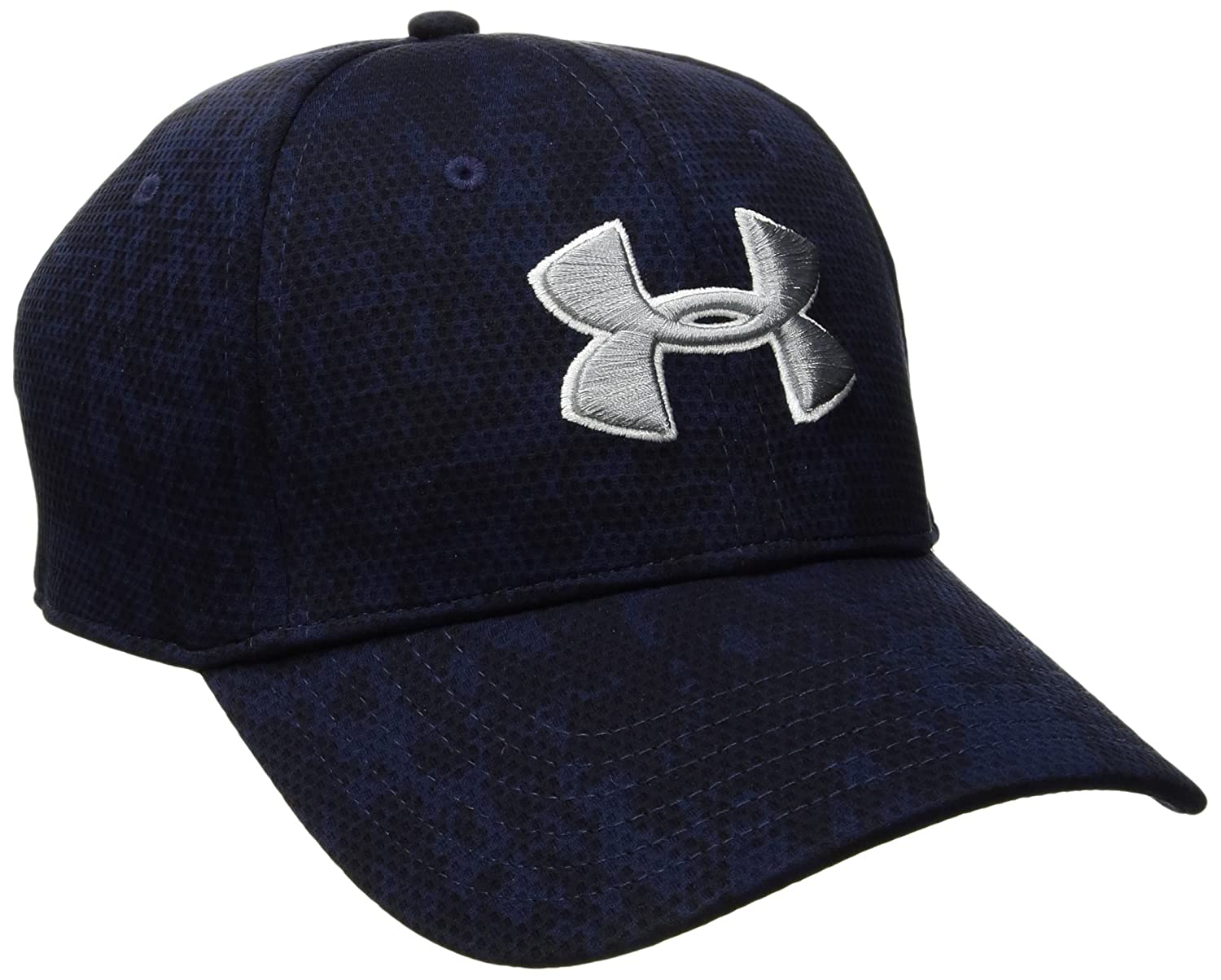 58083e8d2c8 ... Under Armour Mens Printed Blitzing Stretch Fit Cap Under Armour Men  s Printed  Blitzing Stretch ...