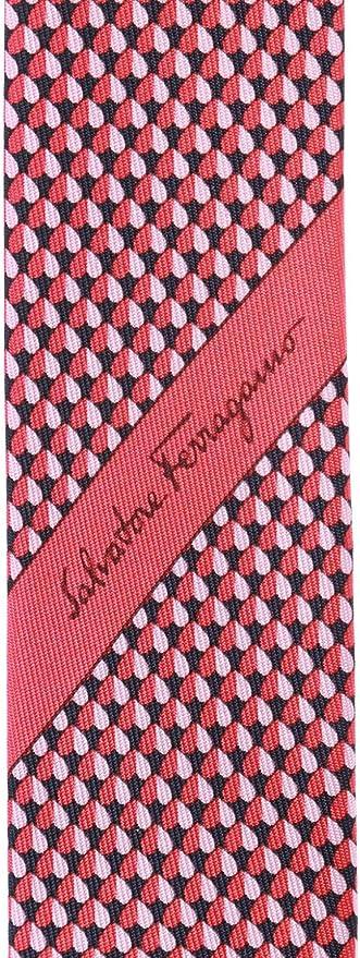 segnalibro Uomo Rosso Burgundy Taglia unica Cravatta