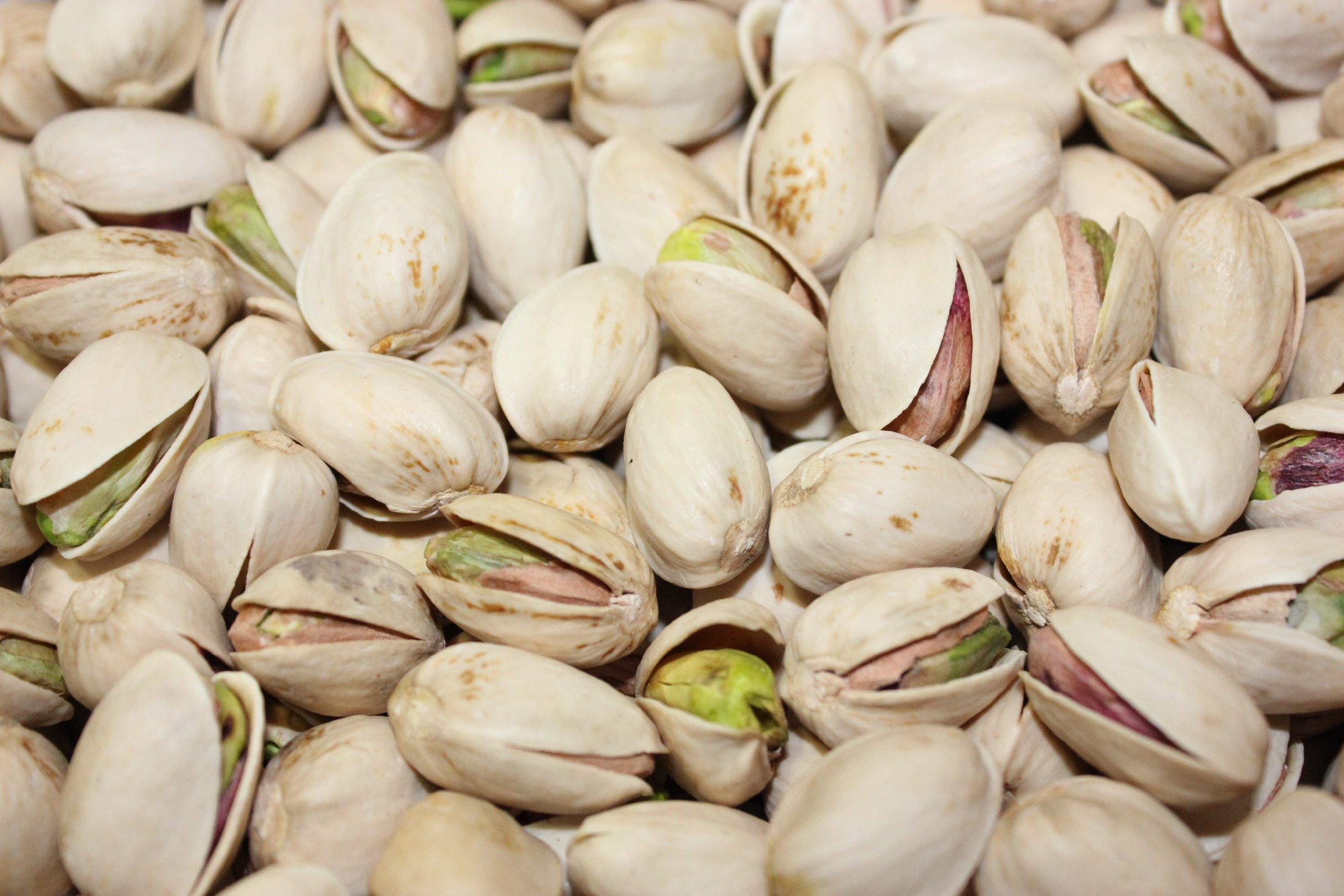 Braga Organic Farms 25 Lb Organic Raw Inshell Pistachios