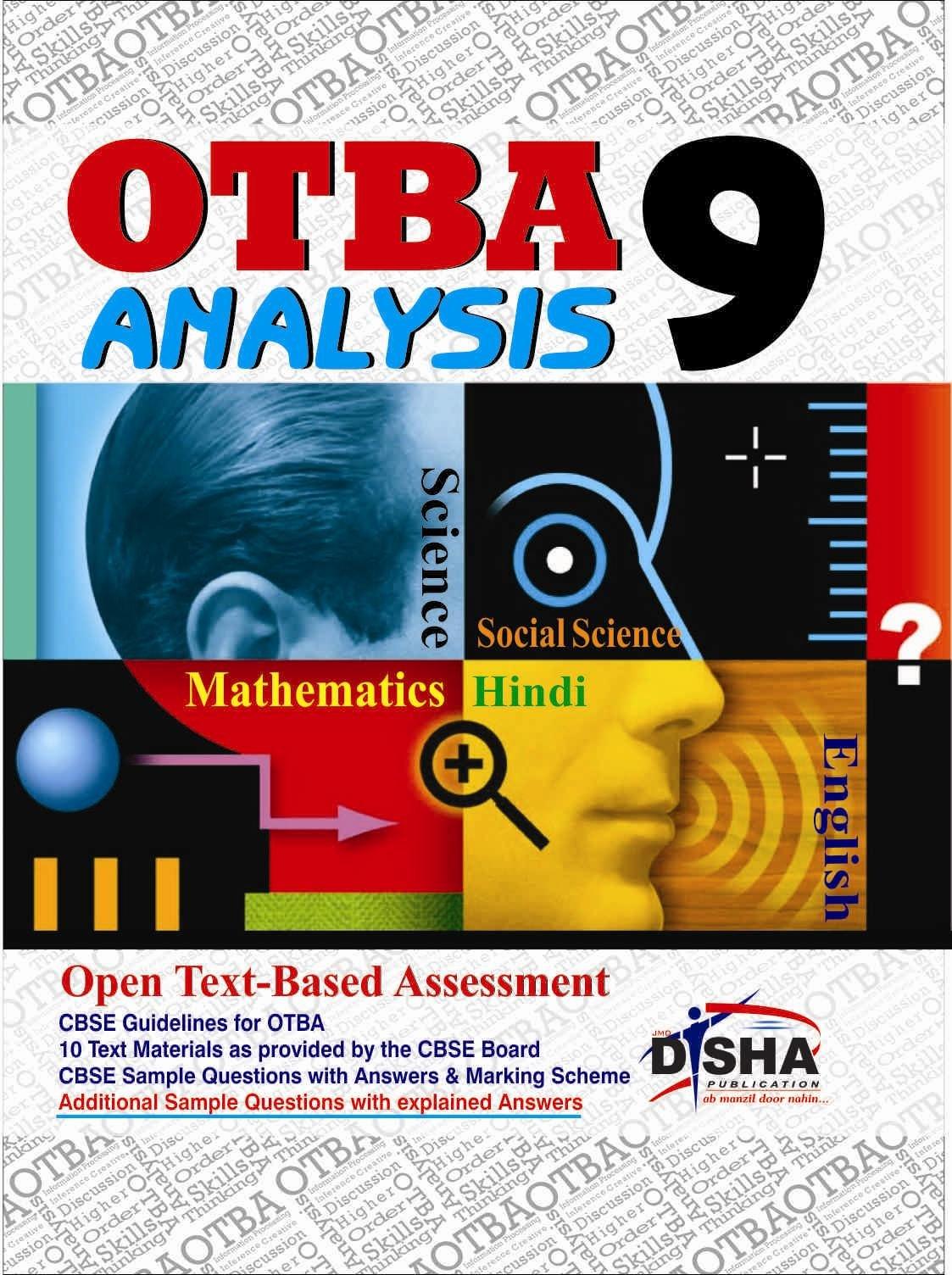 buy otba analysis class 9 science maths social english hindi