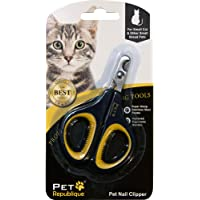 Pet Republique Professional Dog Nail Clippers with Optional Filer - Cat, Puppy, Small, Medium, & Large Dog, Large Bird Claws Nails Trimmer Tool - Protective Gurad & Safety Lock