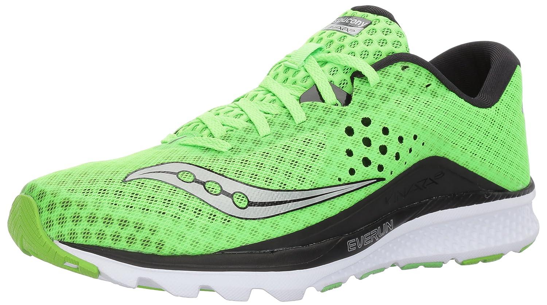 Saucony Kinvara 8, Zapatillas de Running para Hombre 41 EU Verde (Slime/Black)