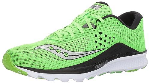 a7ff2d4417 Saucony Men's Kinvara 8 Running Shoe, Slime Black, 9. 5 UK/10. 5 M ...