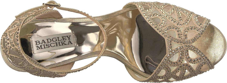 Badgley Mischka Womens Hart Heeled Sandal