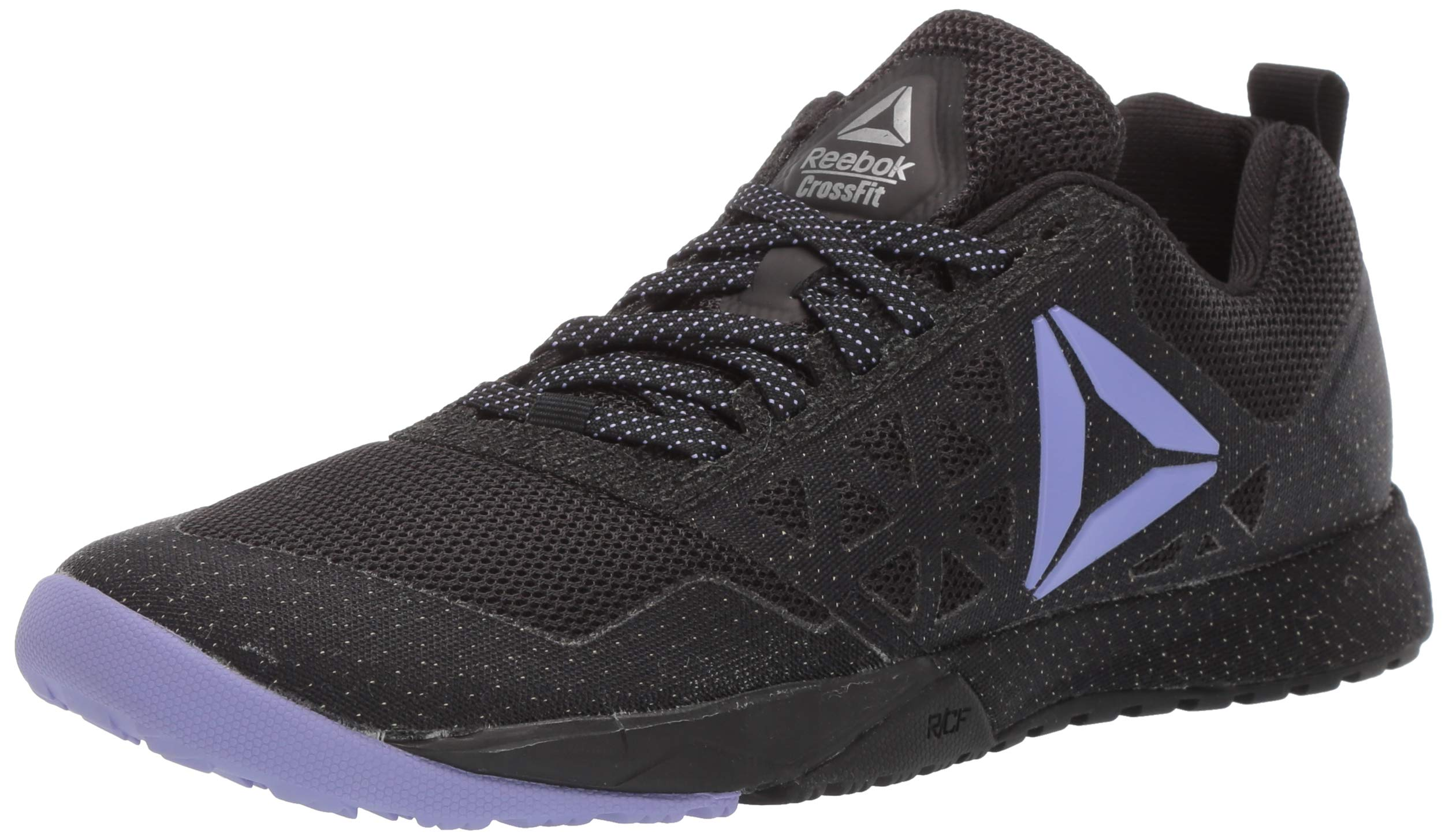 Reebok Women's CROSSFIT Nano 6.0 Cvrt Cross Trainer, Black/Moonpool/Pure Silver/White, 5.5 M US by Reebok