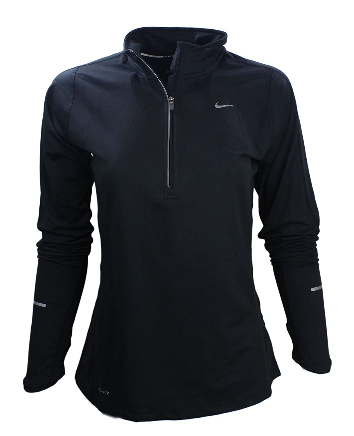 nike quarter zip pullover. nike element half-zip women\u0027s long sleeve pullover athletic running shirt quarter zip
