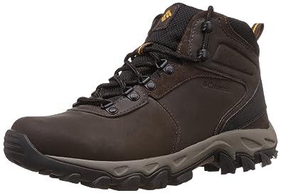 Columbia Men's Newton Ridge Plus II Waterproof Hiking Boot,  Cordovan/Squash, ...