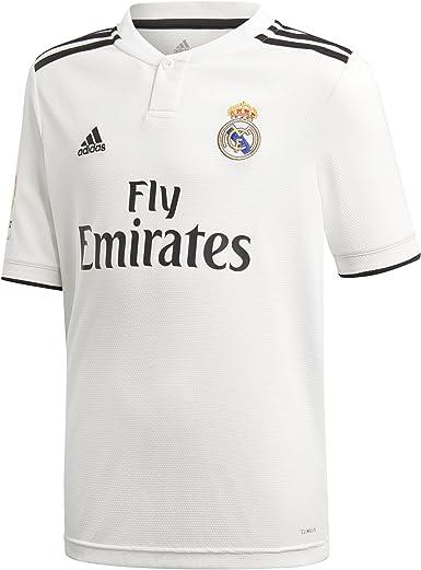 adidas Real Madrid 2018/2019 Camiseta 1ª Equipación, Niños ...