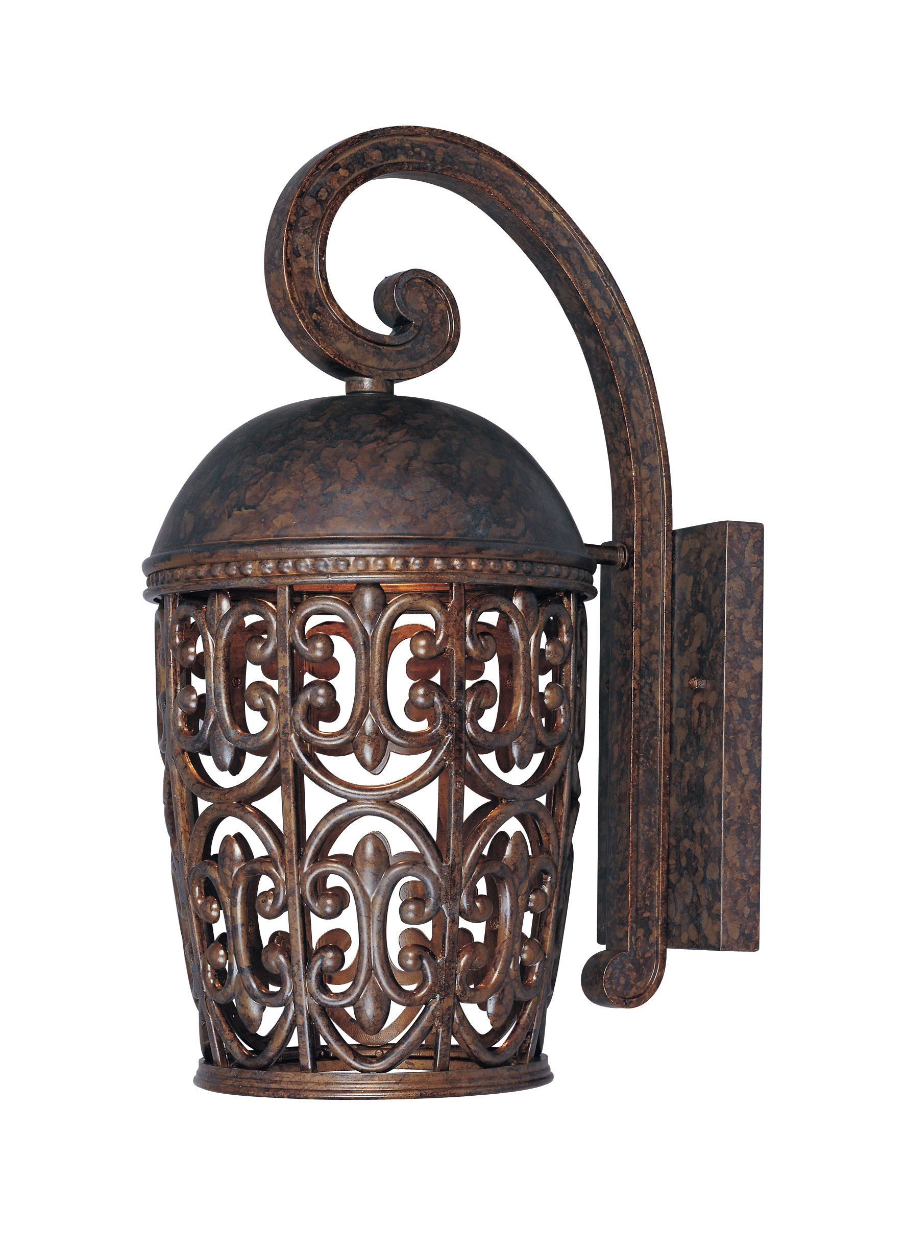Designers Fountain 97592-BU Amherst-DS Wall Lanterns, Burnt Umber