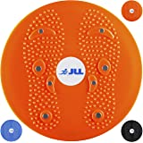 JLL Twist Board with Reflexology Magnet Dots for Waist & Hips Twist Exercise Board for Fitness and Exercise.