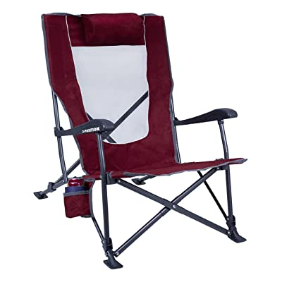 GCI Outdoor Low-Ride Reclining Camping Chair: Sports & Outdoors