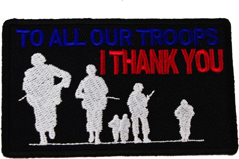 A todos los nuestras tropas I gracias veteranos de honor soldados ...