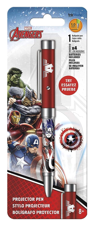 Inkworks Capitán América Los Vengadores Ensamblar Bolígrafo ...