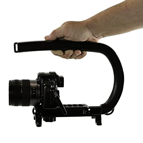 Video Camera Stabilizer >> Amazon Com Cam Caddie Scorpion Original Stabilizing Camera Handle