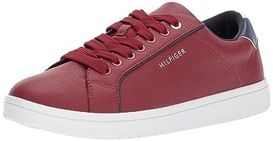 Tommy Hilfiger Mens LOUIE Shoe, red, 9.5 Medium US
