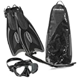 Cressi Palau Long Mask Fin Snorkel Set, Brisbane
