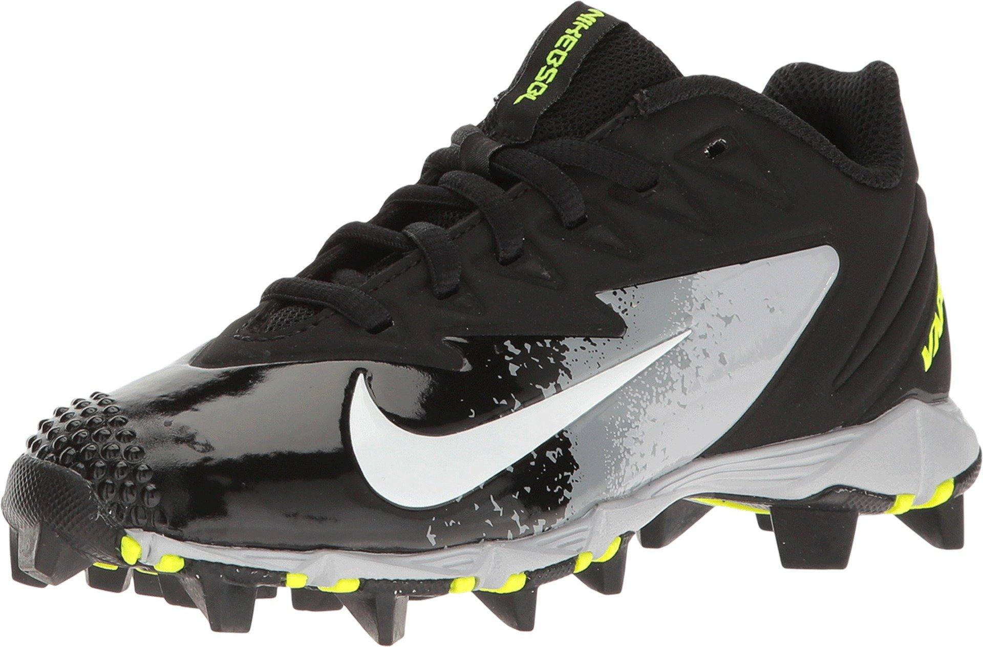 Nike Boy's Vapor Ultrafly Keystone Baseball Cleat Black/White/Wolf Grey/Cool Grey Size 5.5 M US