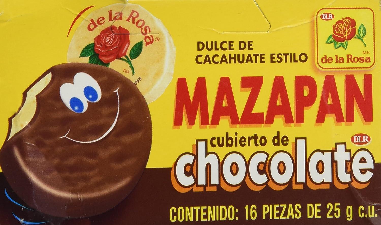 Amazon.com : Mazapan cubierto de Chocolate (16 piezas) : Candy : Grocery & Gourmet Food