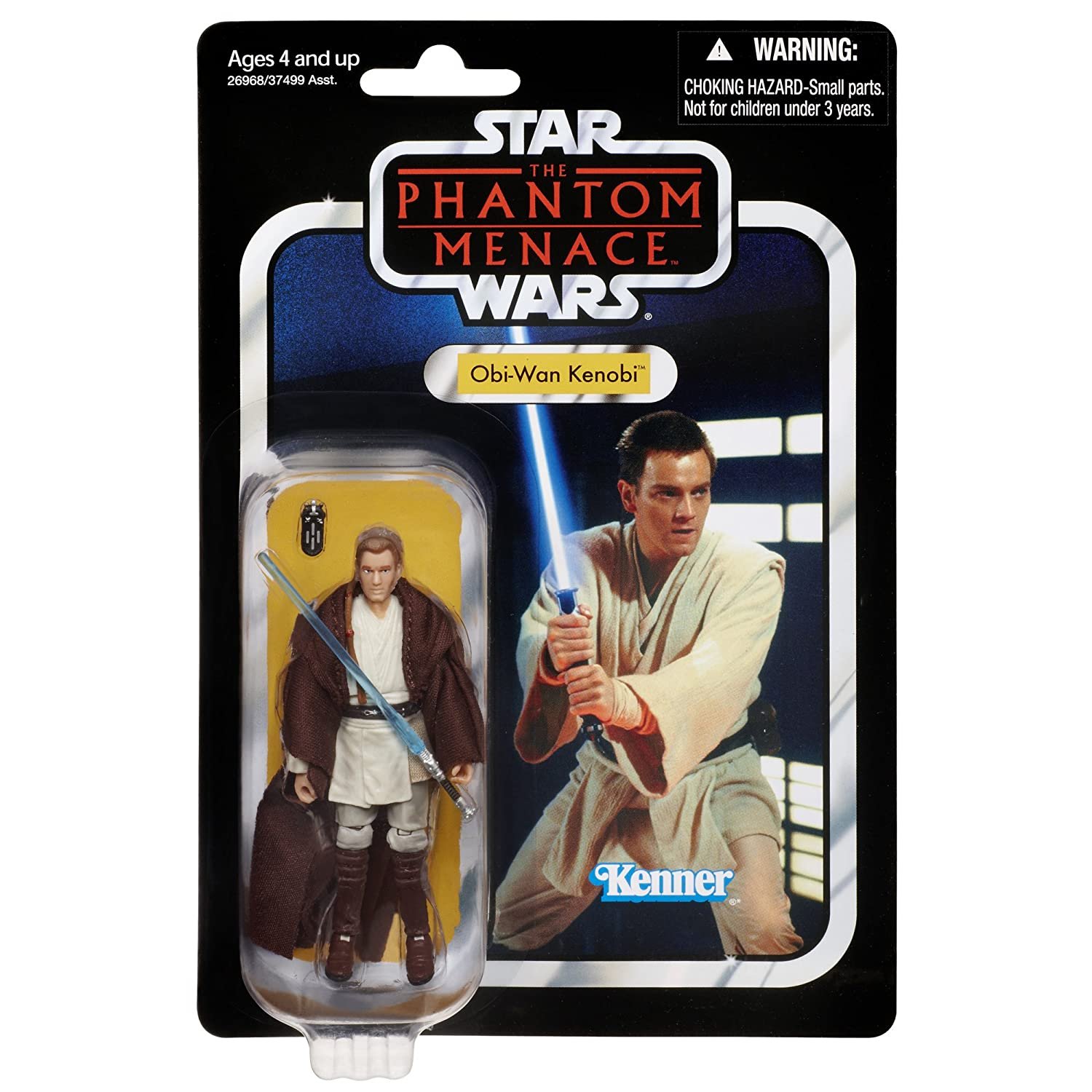 Star Wars the Phantom Menace the Vintage Collection Obi-Wan Kenobi Figure 26968