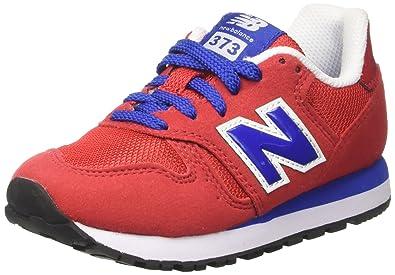 new balance 373 niño rojo