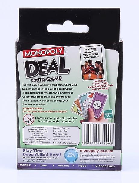 Monopoly Deal Card Game: Amazon.es: Juguetes y juegos