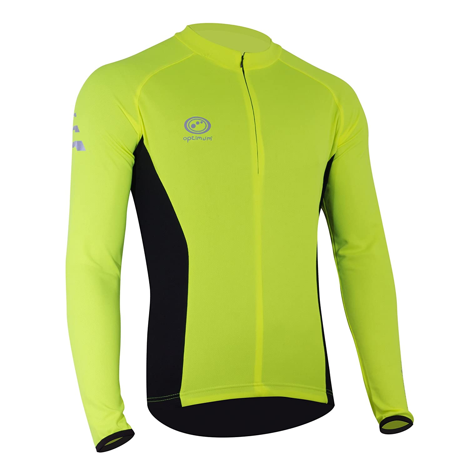 Optimum Men's Nitebrite Cycling Long Sleeve Jersey