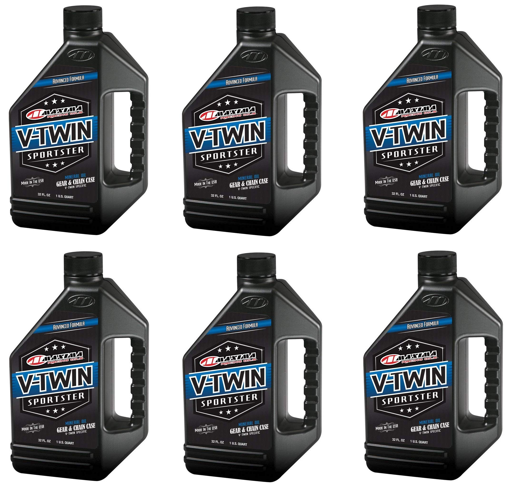 Maxima Racing Oils 40-03901 V-Twin Sporster Gear/Chain Oil - 32 fl. oz. (32 Ounces (pack of 6))