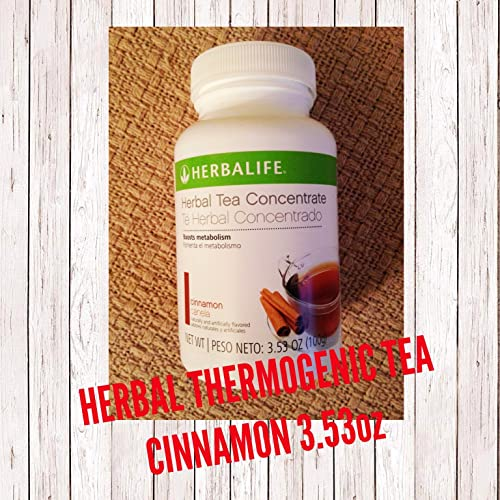 Herbalife Herbal Tea Concentrate Cinnamon 3.53 Oz.