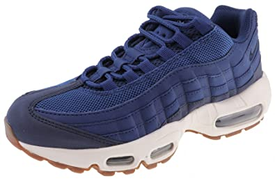 nike womens air max 95 running trainers 307960 sneakers shoes (US 6, coastal  blue
