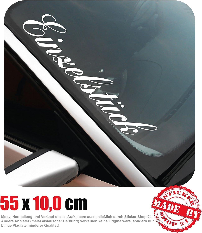 Einzelstück Frontscheibenaufkleber 55 0 Cm X 10 0 Cm Auto Aufkleber Jdm Oem Tuning Sticker Decal 30 Farben Zur Auswahl Auto