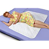 """Premium Quality Bed Pad, Quilted, Waterproof, and Washable , 34"""" x 52"""" The Best Underpad Sheet Protector for Children or…"""