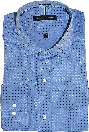 Tommy Hilfiger Dress Shirts Regular Fit Check Camisa de Vestir para Hombre: Amazon.es: Ropa y accesorios