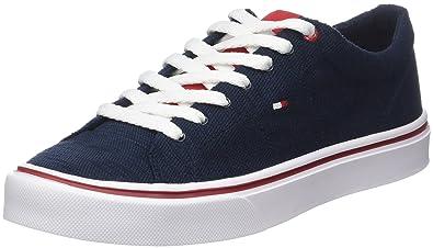 Tommy Hilfiger H2285arrington 5d2, Sneaker Basses Homme, Bleu (Midnight),  43 EU 5ee4e55b6ab3