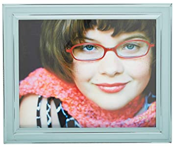Amazoncom Sheffield Home 8 X 10 Distressed Teal Frame 8 X