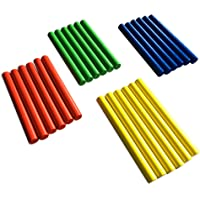 Rhythm Lummi Sticks GiftedMusicKids | Set of 24 Sticks | Musical Instruments for Toddlers | ASTM Certified FDA Approved