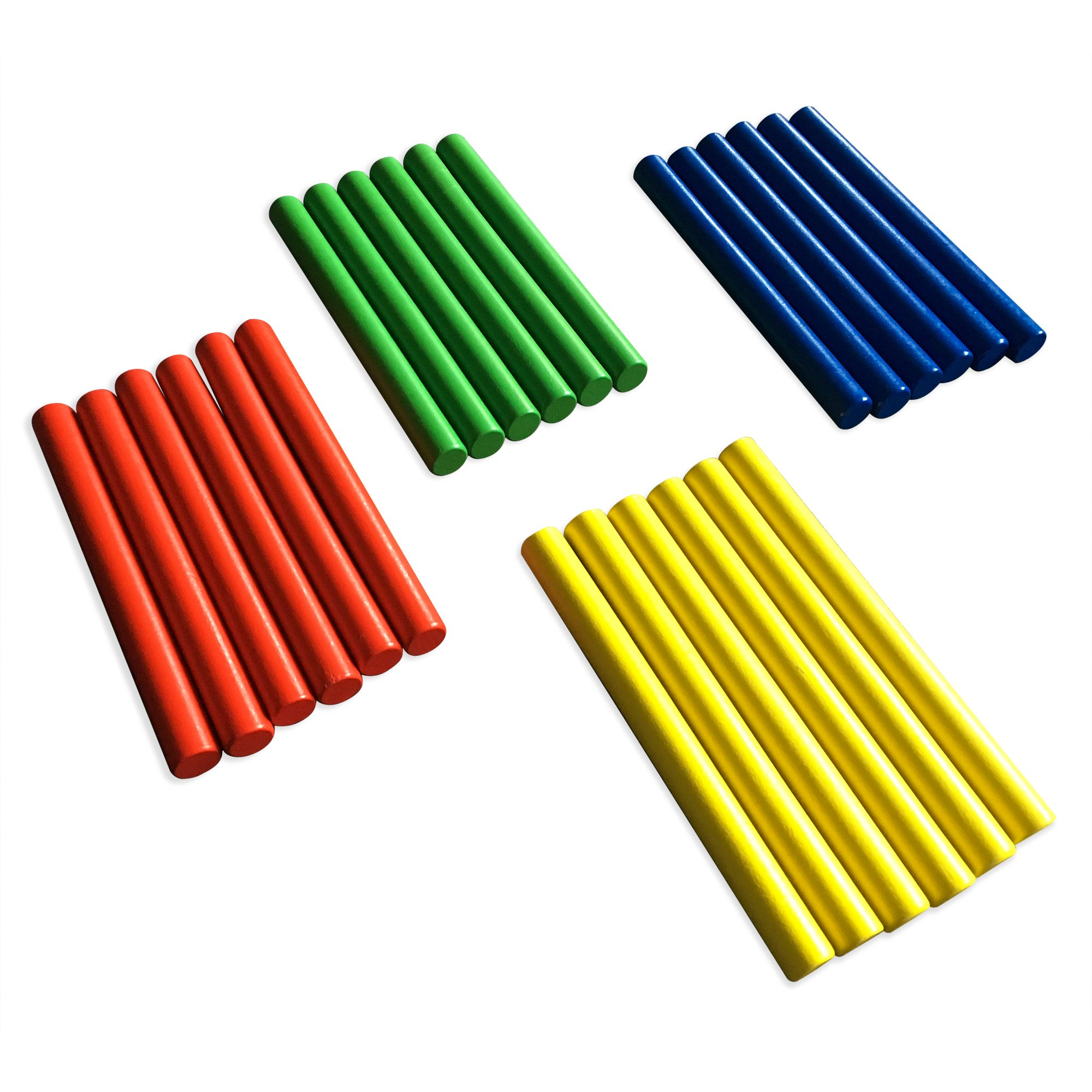 Rhythm Lummi Sticks GiftedMusicKids | Set of 24 Sticks | Musical Instruments for Toddlers by FAXADELLA