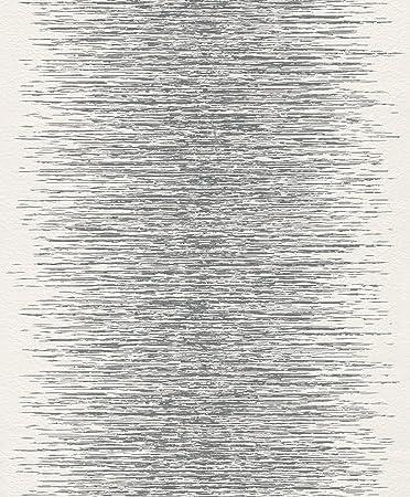 rasch 413809 vlies tapete muster struktur silber grau wei glanz - Vliestapeten Muster